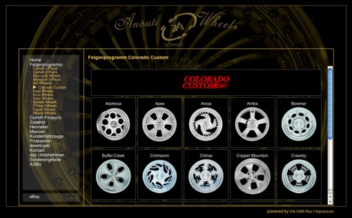 Anouti Wheels Site
